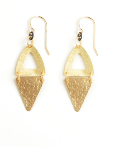Palatino Gold Earrings