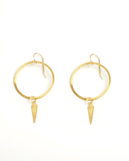 Cruz Gold Earrings