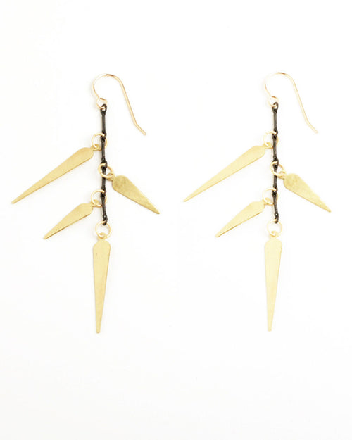 Caral Gold Earrings