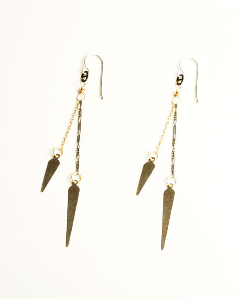 Pointy Antique Earrings
