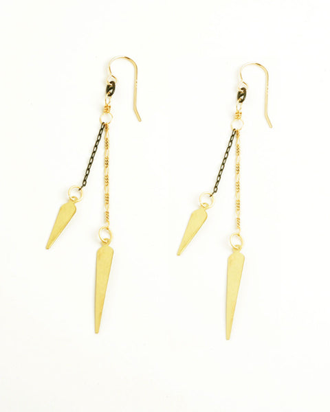 Pointy Mix Earrings