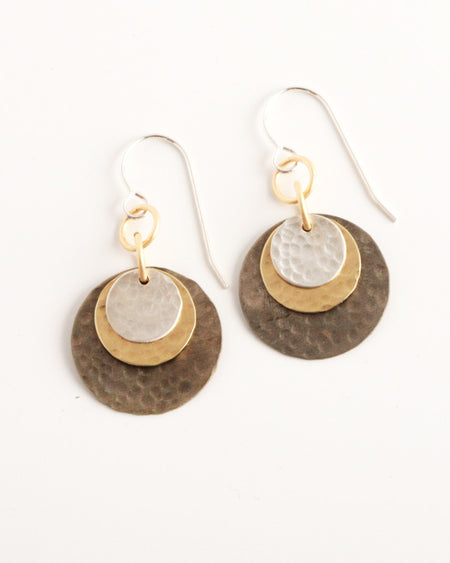 Orbitz Antique Earrings
