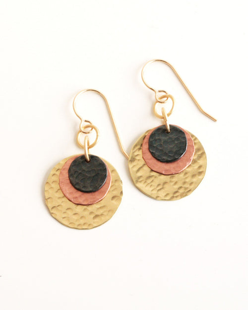 Earth Gold Earrings