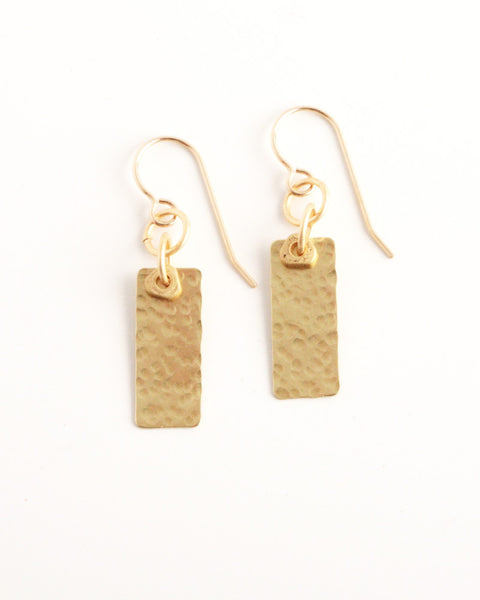 Tangle Gold Earrings