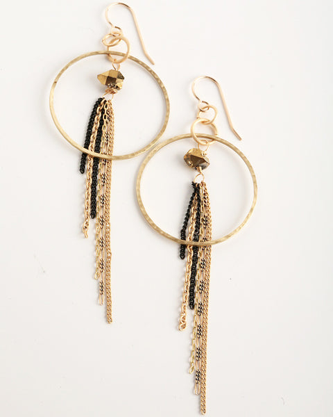 Disco Gold Earrings