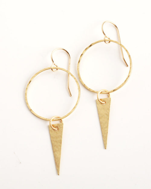 Sweet Water Gold Earrings