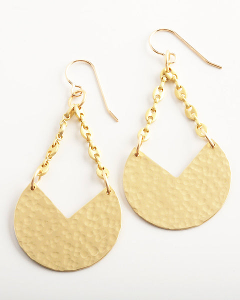Lunar Gold Earrings