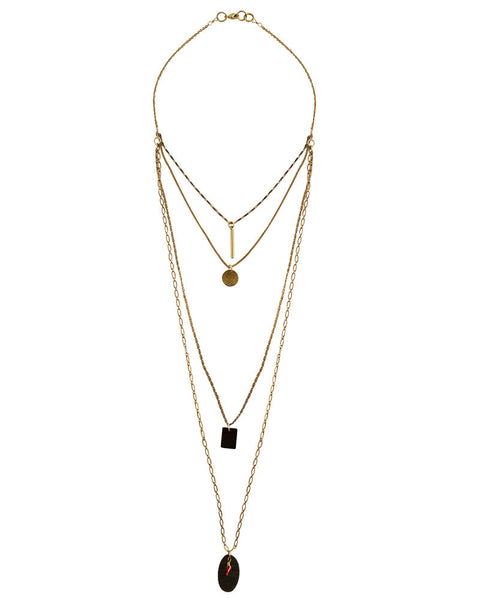 Green Street Gold Necklace