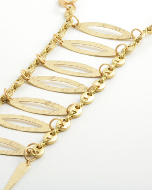 Climb Gold Necklace