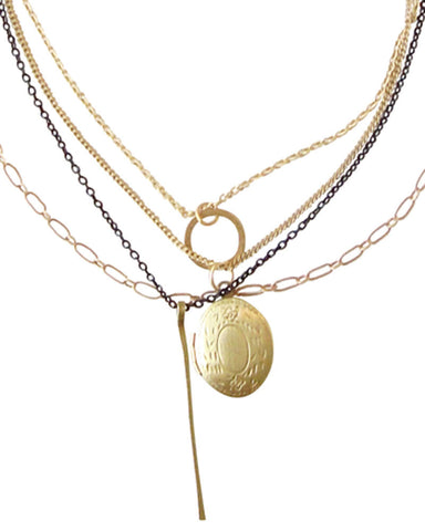 Nostalgia Gold Necklace