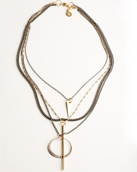 Emily Gold Necklace