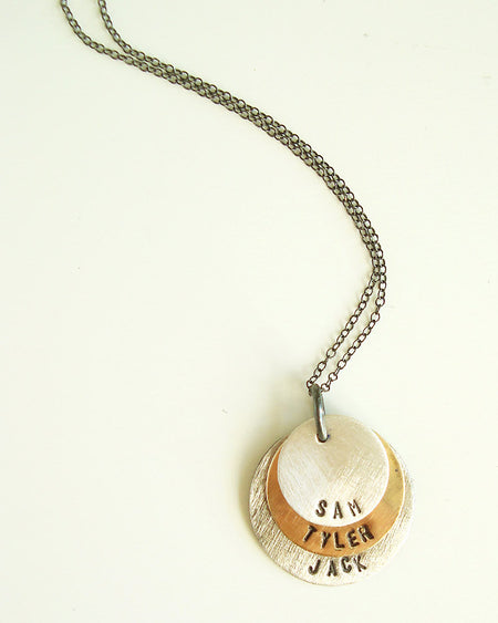 Journey Silver Necklace