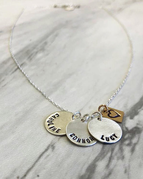 Simply Sweet Silver Necklace