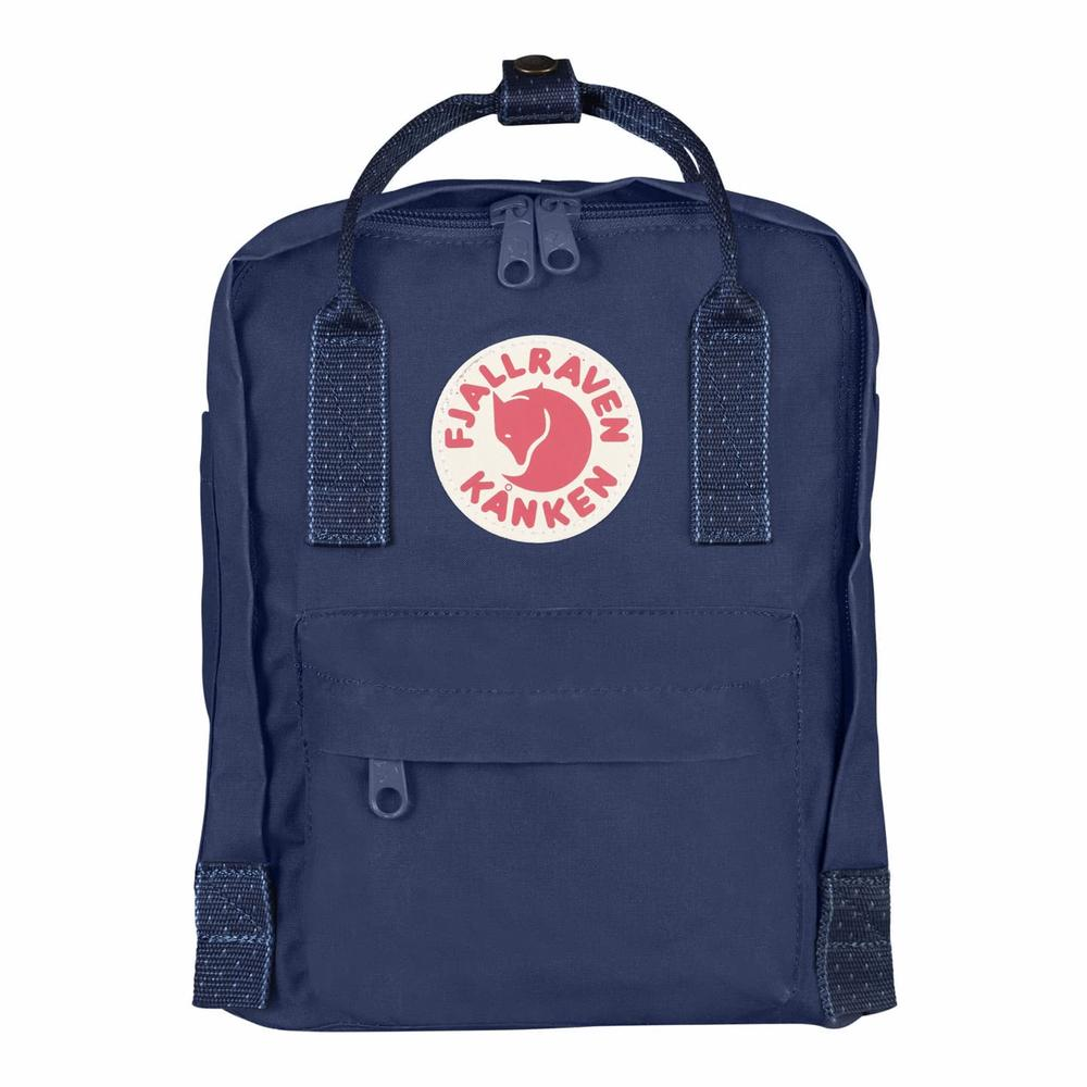 Kanken Mini Royal Blue - Pinstripe Pattern