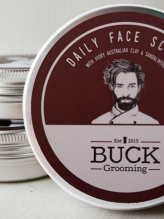 BUCK Grooming Daily Face Scrub
