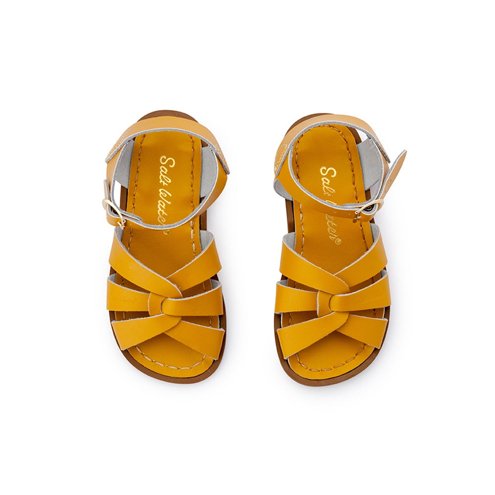 Kids Salt Water Sandals Original Mustard *PRE ORDER*
