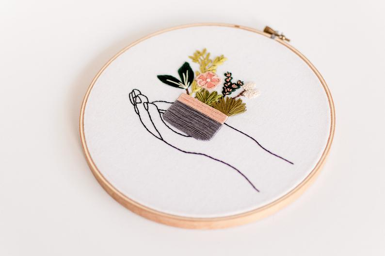 In Your Hands Embroidery Kit