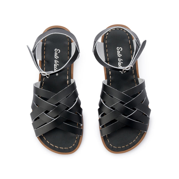 3744cefe9ff7b3 Salt Water Retro Sandal Black