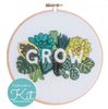 Grow Embroidery Kit