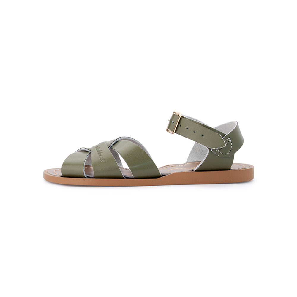 Kids Salt Water Sandal Original Olive