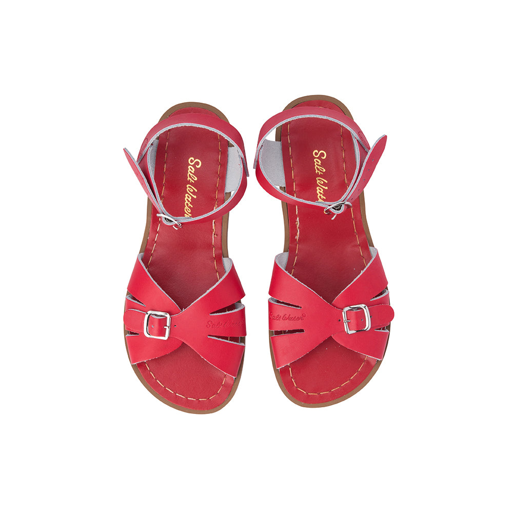 Red Classic Salt Water Sandal
