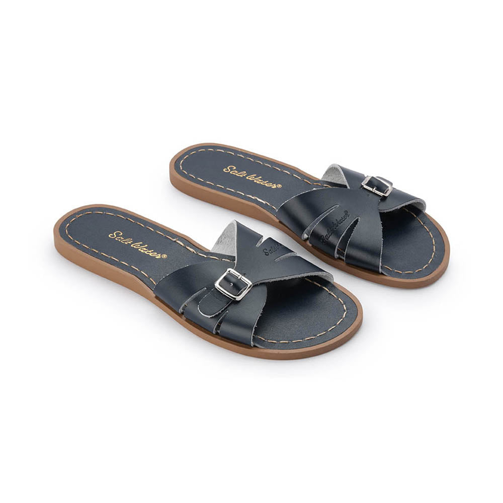 Navy Classic Slides
