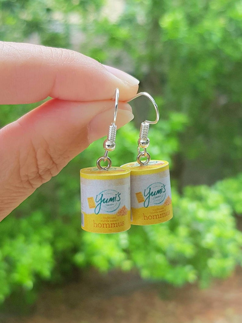 Yumi's Hommus Earrings