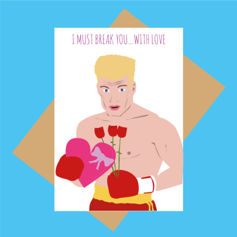 Break you with Love card
