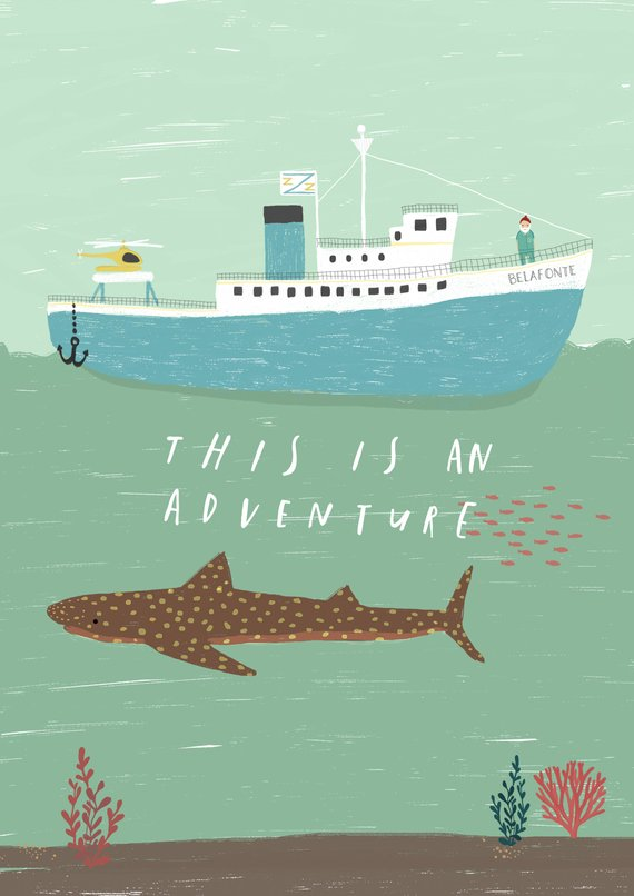 This is an Adventure A4 Print