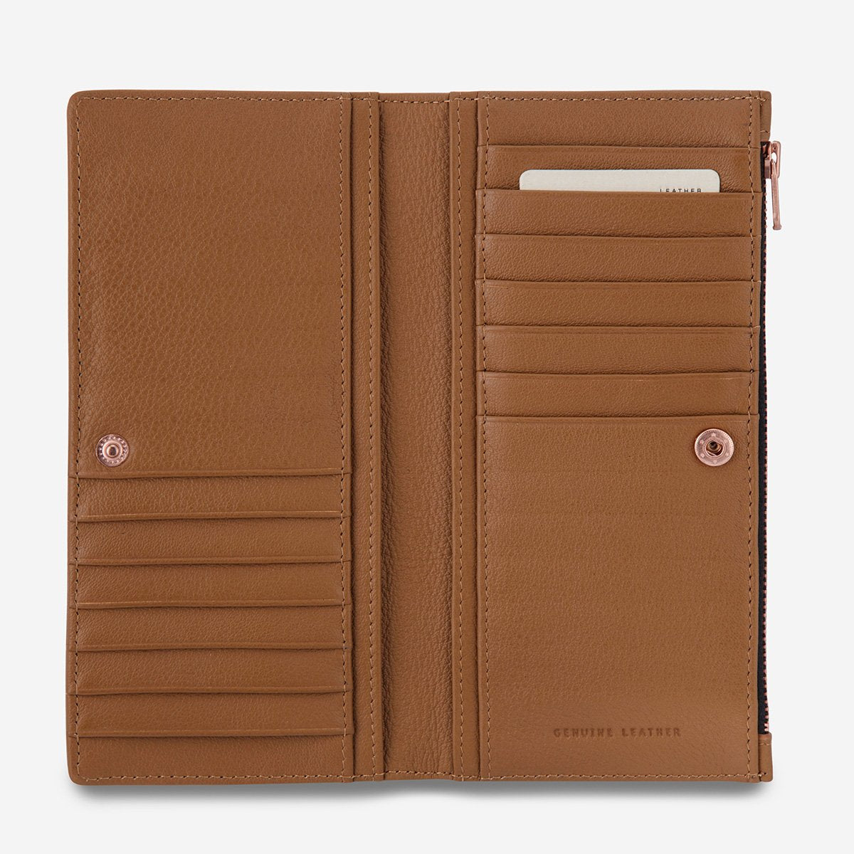 In The Beginning Wallet Tan