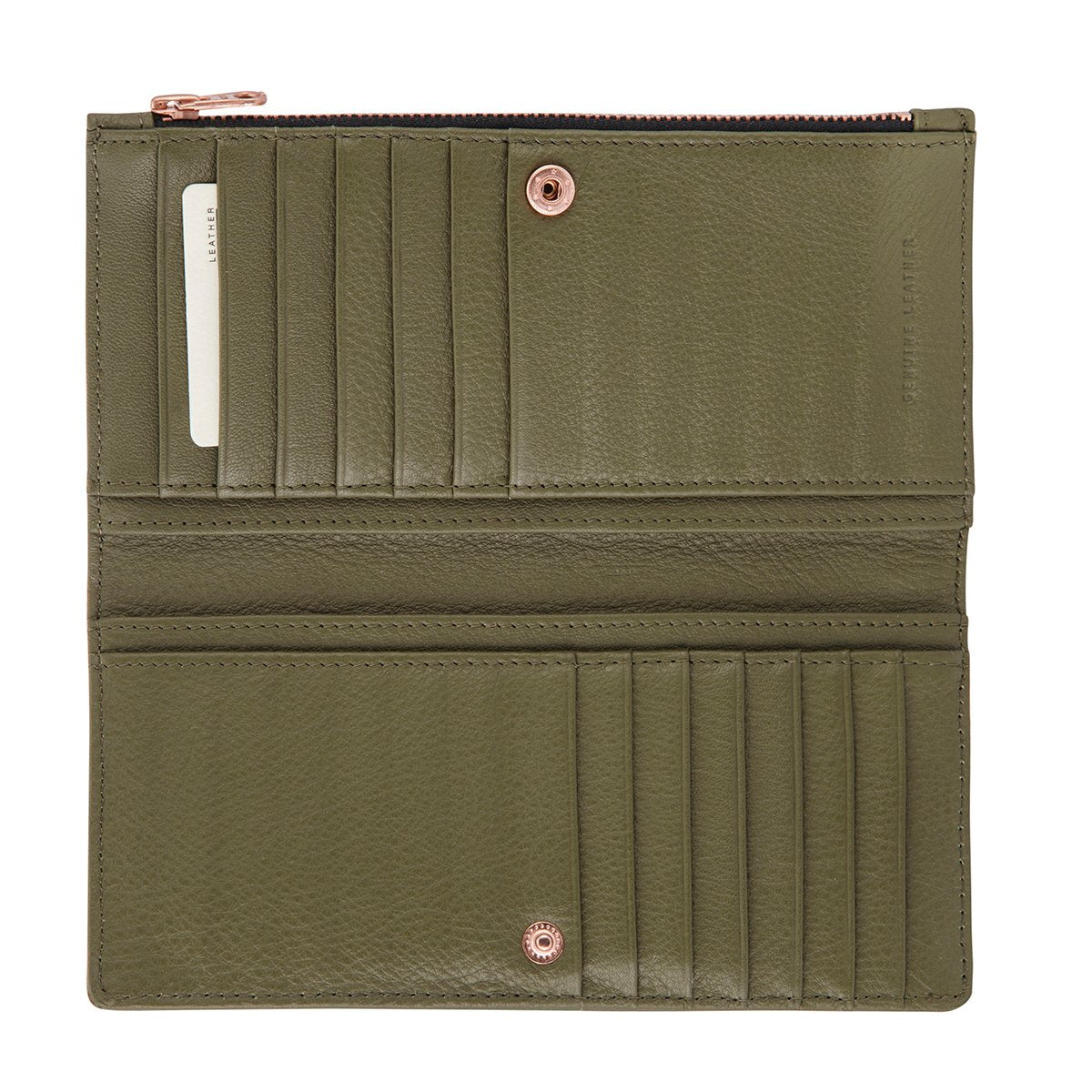 In The Beginning Wallet khaki