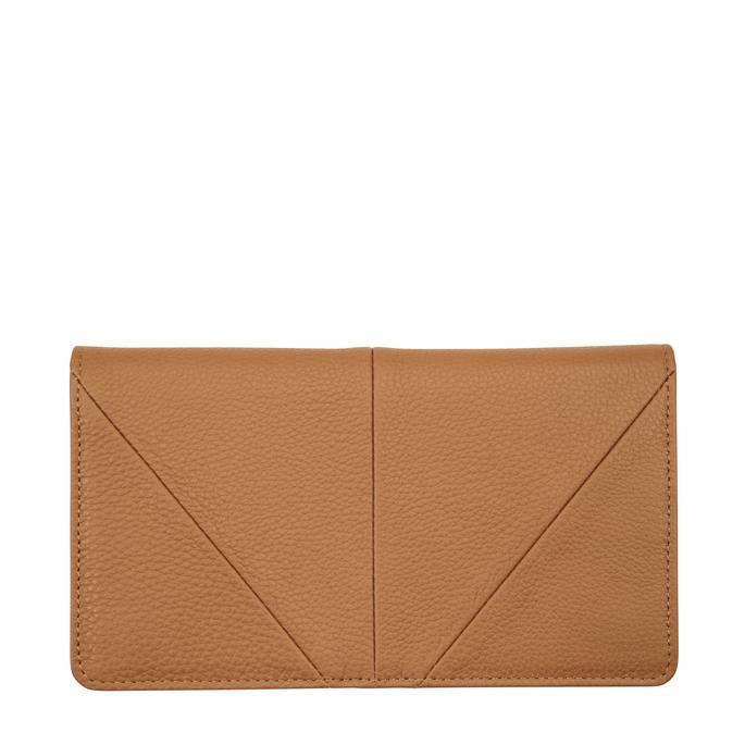 Triple Threat Wallet Tan