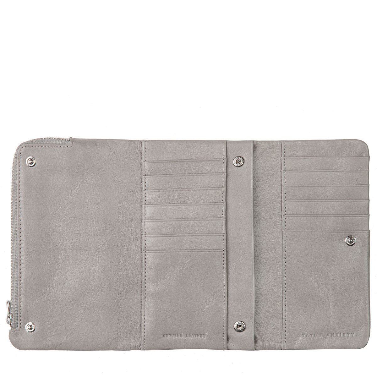 Audrey Wallet Light Grey