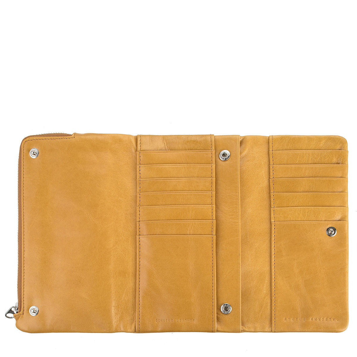 Audrey Wallet Tan