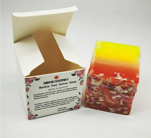 Barbie Yoni Herbal Cleansing Soap