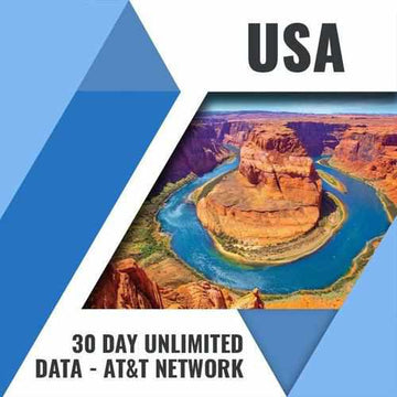 USA PREPAID SIM CARD | 30 DAY | UNLIMITED DATA & CALLS