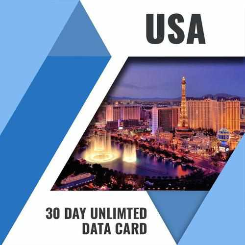 USA PREPAID DATA ONLY SIM CARD | 30 DAY | UNLIMITED DATA - prepaidsims