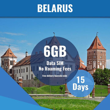 Belarus Prepaid SIM Card | 15 Day | 6GB