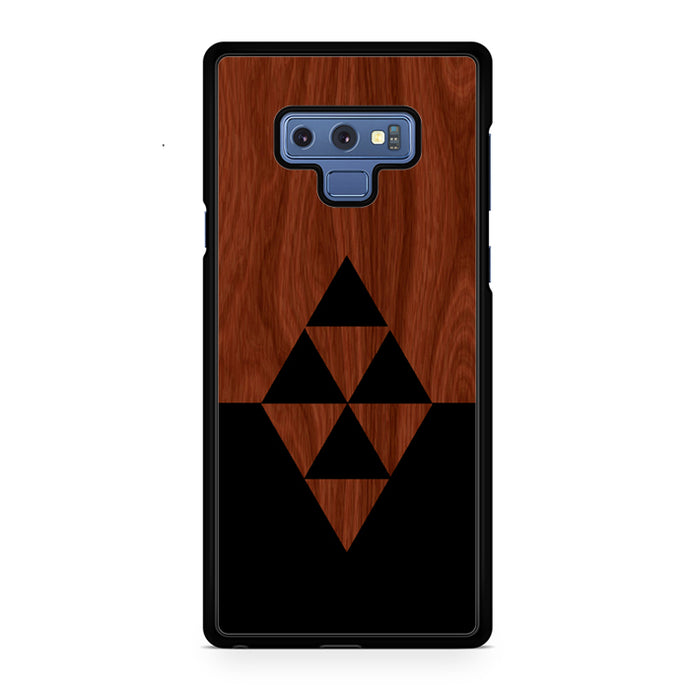 Darkwood Black Triangles Samsung Galaxy Note 9 Case