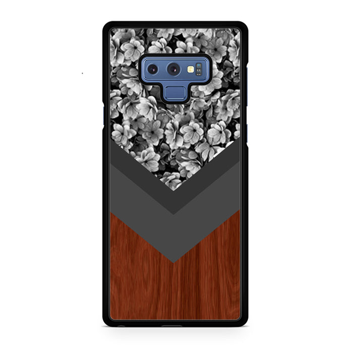 Wood Floral Samsung Galaxy Note 9 Case