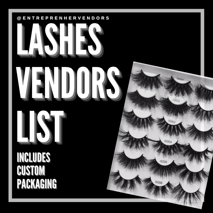 Lashes Only Vendor List