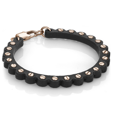 Moto Leather Bracelet