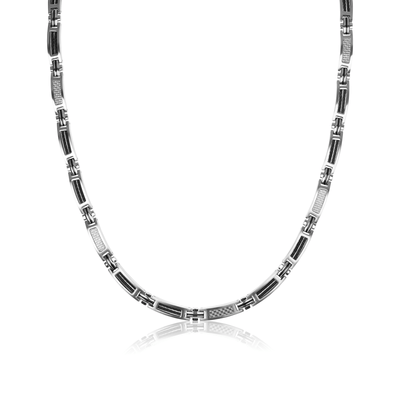Racer 2 Carbon Fibre Necklace