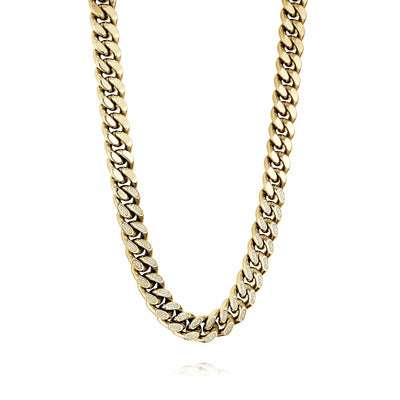13MM CUBAN CZ CHAIN