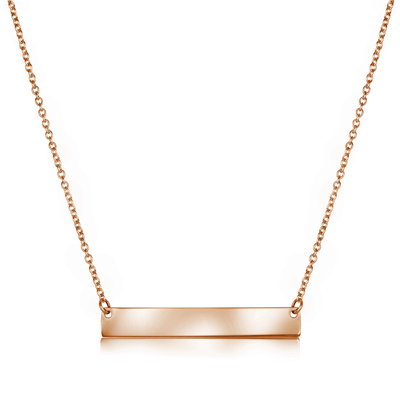 Bar Gem Necklace