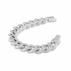 Diamond Cut Curb Bracelet