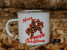 Load image into Gallery viewer, Merry Buckin' Christmas Campfire Mug