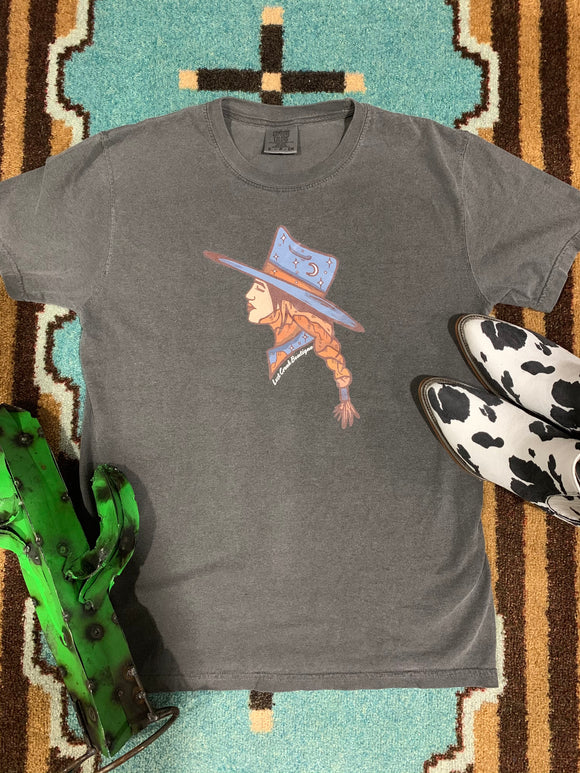 Midnight Cowgirl Tee
