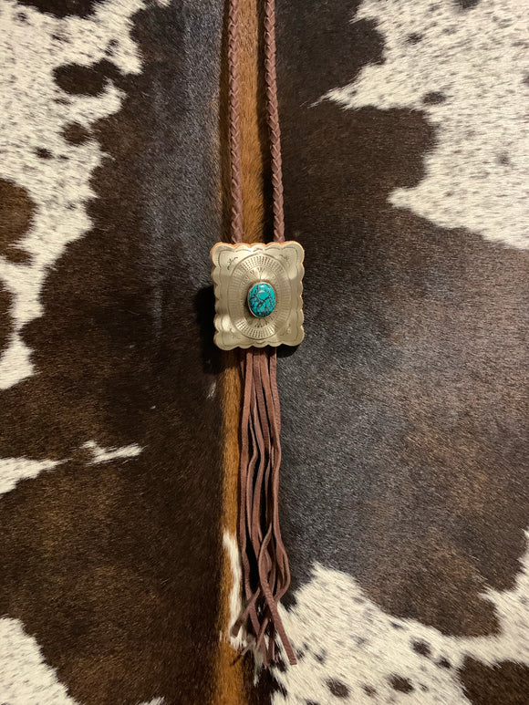 The Big Concho Bolo-Brown