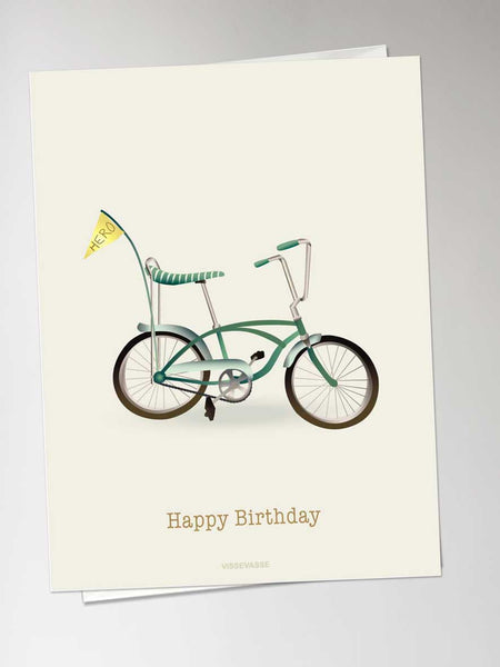 Happy Birthday - bicycle